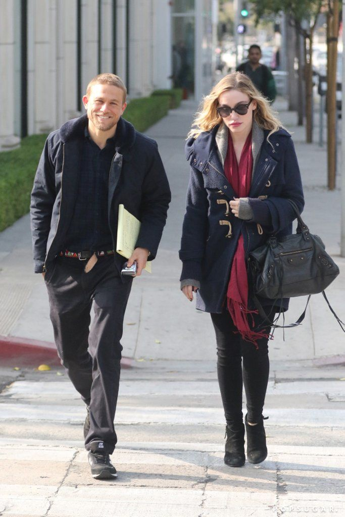 Charlie Hunnam Looks So Happy During a Rare Outing With Girlfriend Morgana McNelis