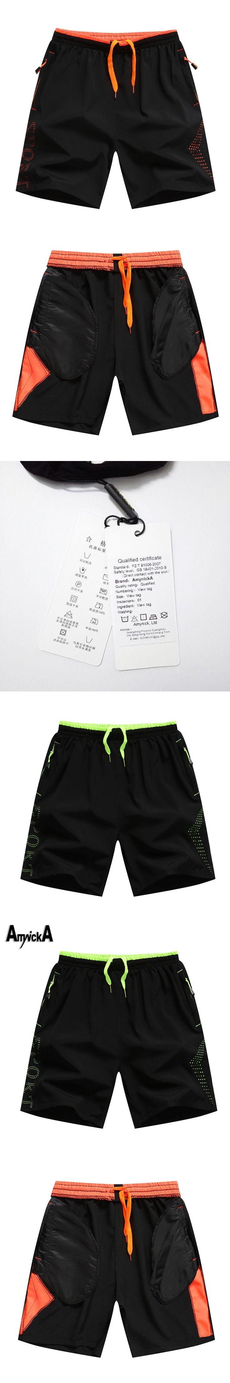 AmynickA Sport Shorts Mens Boys Summer Thin Cycling Running Basketball Soccer Jogging Football Fitness Hiking Gym Shorts Male A5