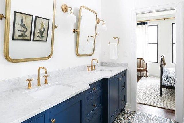Katie Small Globe Sconce Gold Bathroom Gold Room Decor