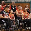 WAY TO GO GUYS :) ... Be Active Wheelcats Win Silver in NWBL - Wheel Chair Sports News