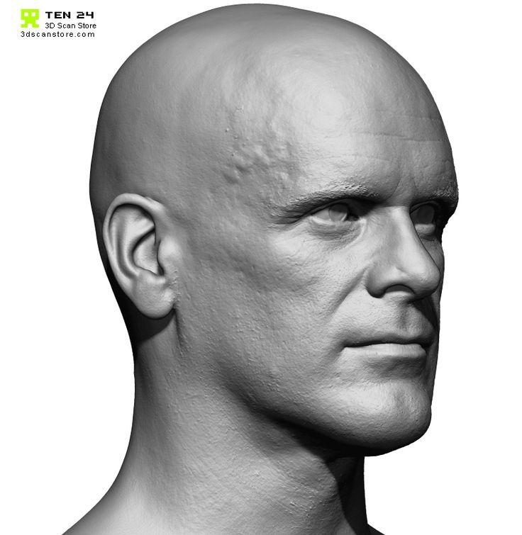 Male 18 Head Scan Cleaned