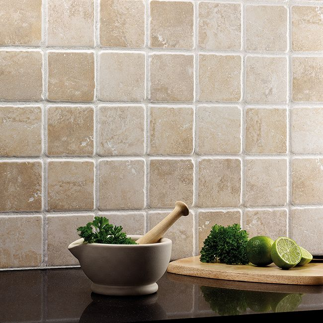 Wonderful Neutral Tiles Work Well In Most Kitchens U0026 Subtle Colour Variations Add  Interest. Shown Here: California Stone.
