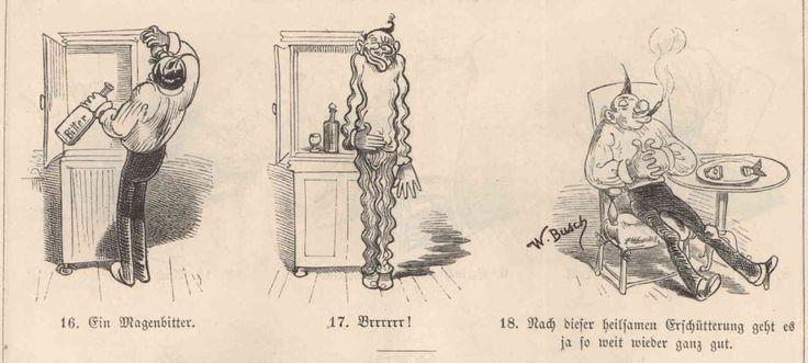 'Der Katzenjammer am Neujahrsmorgen' (1865)