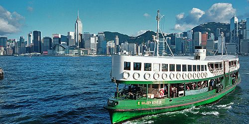 Star Ferries - follow the link to ferry company website and ferry schedules