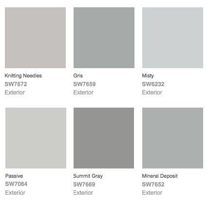 grey wall color scheme. 22 beautiful bedroom color schemes