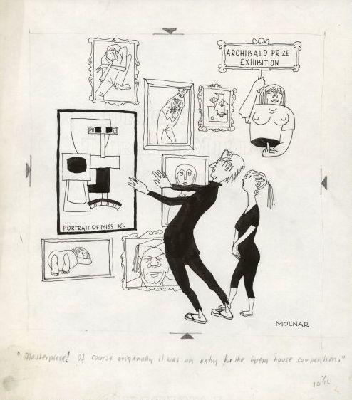 George Molnar, 'Masterpiece!'  c.1958