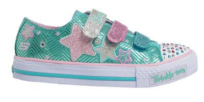 Skechers - Triple Up - Mint/Lavender