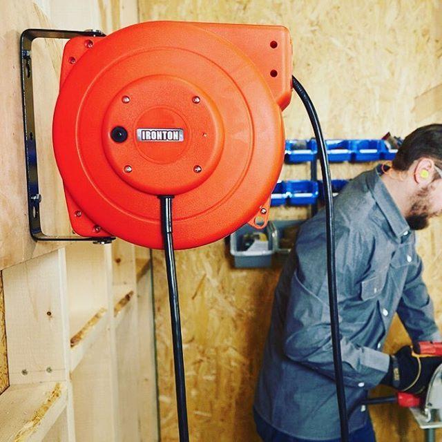 Professional Fluorescent Retractable Reel Garage Shop Work: 378 Best Images About Garage + Workshop On Pinterest