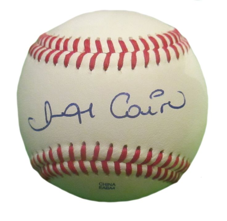 Miguel Cairo Autographed Rawlings ROLB Leather Baseball, Proof Photo. Miguel Cairo Signed Rawlings Baseball, New York Yankees, NY Mets, Chicago Cubs, St Louis Cardinals, Proof   This is a brand-new Miguel Cairo autographed Rawlings official league leather baseball.  Miguel signed the baseball in blue ball point pen. Check out the photo of Miguel signing for us. ** Proof photo is included for free with purchase. Please click on images to enlarge. Please browse our website for additional MLB…