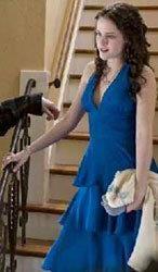 Синее платье беллы