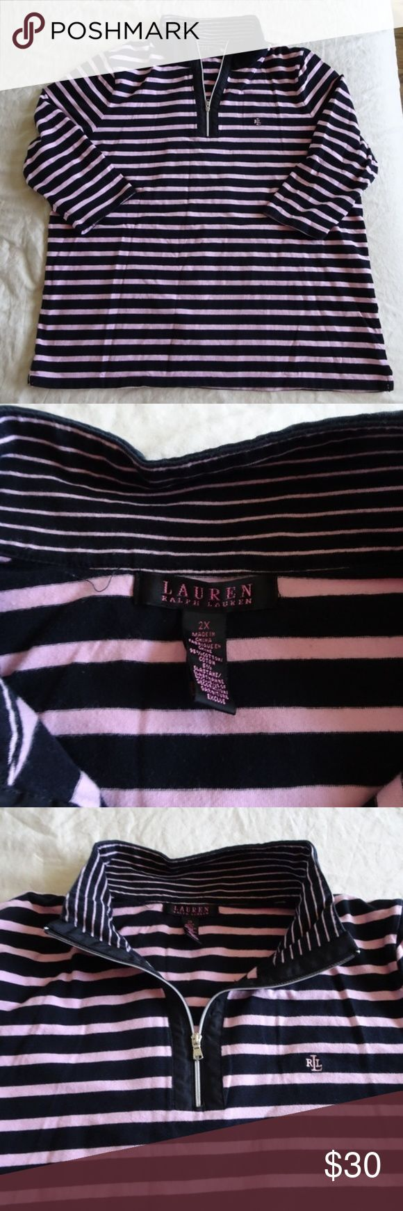 I just added this listing on Poshmark: Lauren Ralph Lauren Stripe Half Zip Pullover. #shopmycloset #poshmark #fashion #shopping #style #forsale #Lauren Ralph Lauren #Sweaters