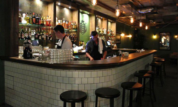 The Barber Shop - Sydney. Love the bar!