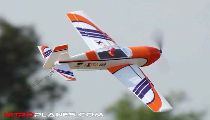 Dynam 4-CH Extra 330 940MM 3D Aerobatic Brushless RC Remote Control Airplane 2.4G RTF