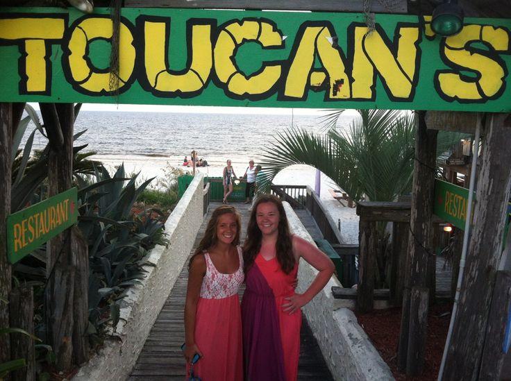 Toucan S Restaurant Mexico Beach Fl