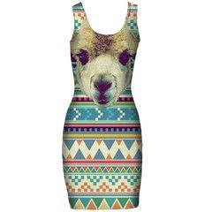 Alpaca simple dress