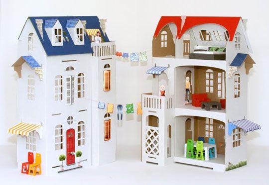 Cardboard dollhouse <3