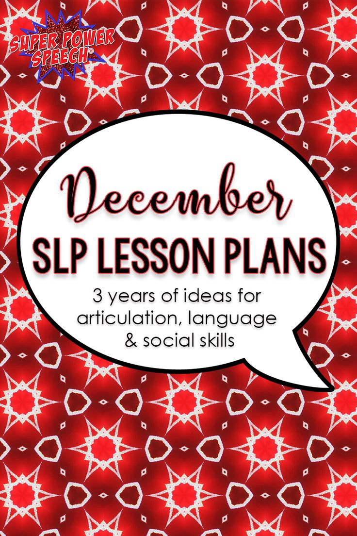 Free lesson plans full of ideas for SLPs or special education teachers!