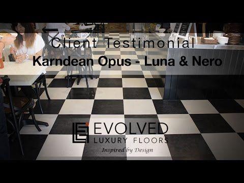 Evolved Luxury Floors - Client Testimonial Karndean Opus Luna & Nero