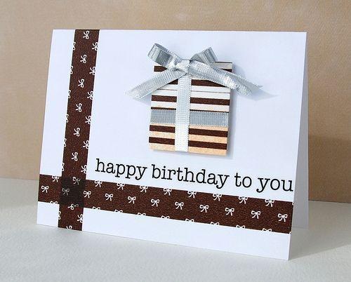 washi tape happy birthday card http://wishywashi.com