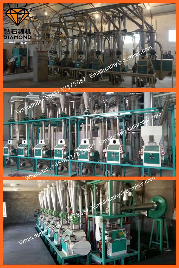 wheat flour mill machine line
