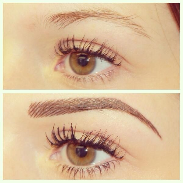Brows and Lash Extensions done at Clay Roots 501-525-8811
