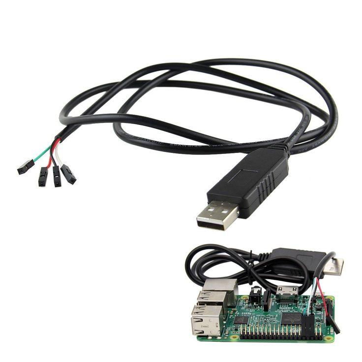 5PCS USB To TTL Debug Serial Port Cable For Raspberry Pi 3B 2B / COM Port #Usb