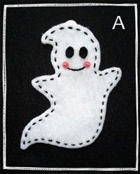 homemade halloween decorations - printable stencils for ghost, pumpkin, candy corn, etc.