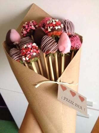 Resultado de imagen para fresas con chocolate