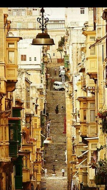 Valletta. Malta.                                                       …