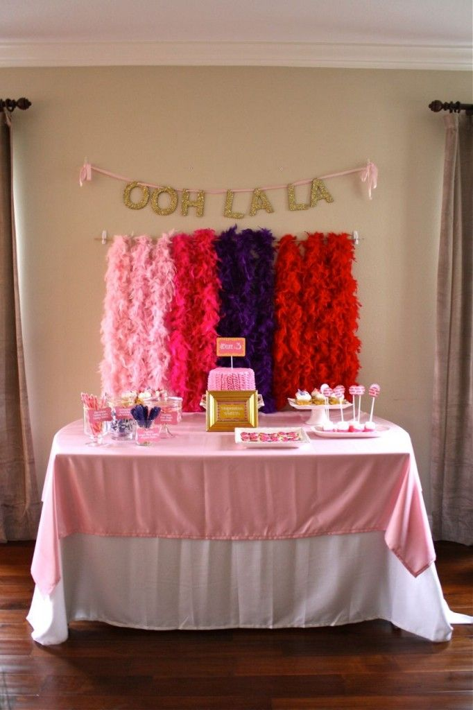 """Have a Fancy Nancy fan in your family? Check out this """"fancy"""" party! #fancy"""