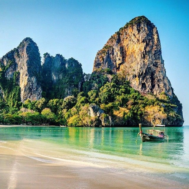 how to get to railay beach from bangkok