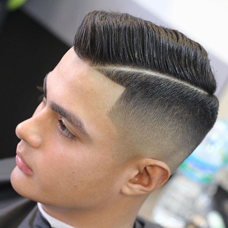 Comb Over Haircut for men 2017