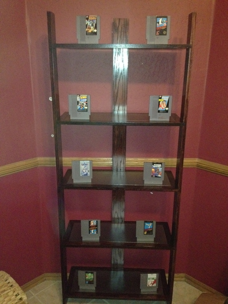 Red Oak Shelf with VG book ends
