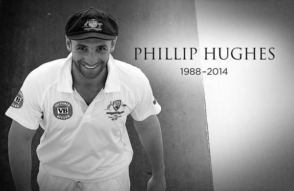 Australian cricket player Phillip Hughes dies aged 25...! Phil Hughes, 25, never recaptured awareness after ball hit him underneath his protective cap while batting for South Australia in a match. An Australian cricket player knocked oblivious recently when a ball struck him in the head has passed on