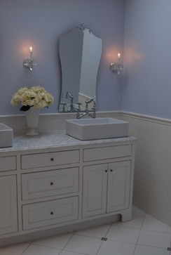 Photographic Gallery Romantic bathroom vanity designed by Cranbury Design Center LLC
