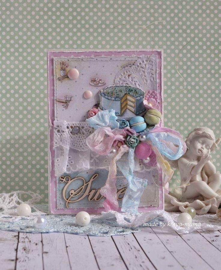 Katerina Studio: Французская кондитерская, или сладкая открытка.