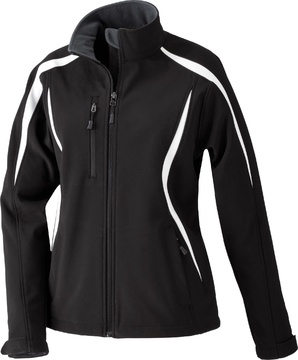 ENZO LADIES COLOR-BLOCK SOFT SHELL JACKET – Ash City – 78650
