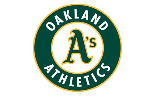 The best logo and the best slogan in Major League Baseball come from PsPrint's hometown, in my opinion: Logan S Team, Oakland As Logo Jpg 493 328, Moneyball Colour, Colour Palette, Sports Teams, Colour Factor
