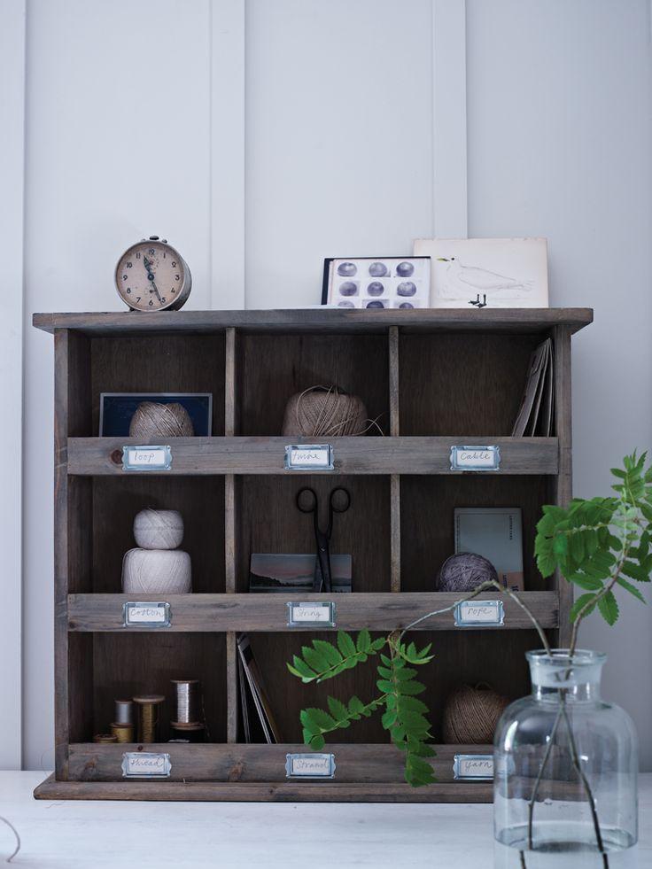 Wooden Box Unit