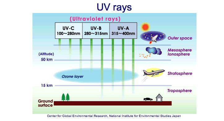 OrgoNet: Slunce je divné? Možná kvůli extrémní úrovni škodlivého UV záření.