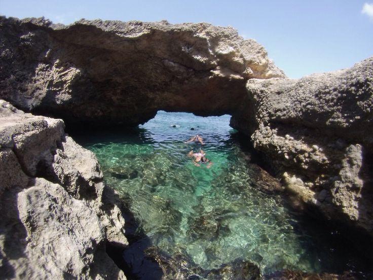 Sea cave Mallorca
