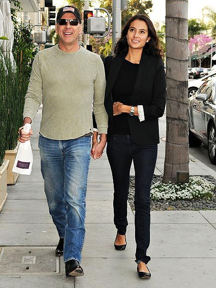 Bruce Willis & girlfriend Emma Heming
