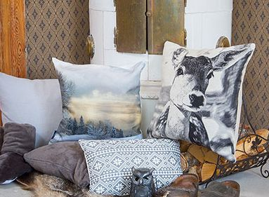 Make a cosy room with Autumn Winter Collection from Moltex.  More inspiration at www.designpointprague.cz
