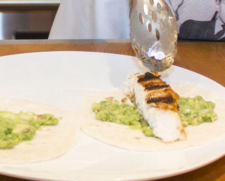 Morue fraiche sur tacos