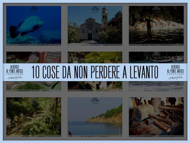 10 Cose da non perdere a Levanto - Albergo Al Ponte Antico
