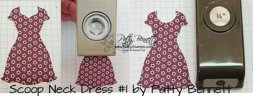 10 Ways to Alter your Dresses from Stampin Up - Patty's Stamping Spot