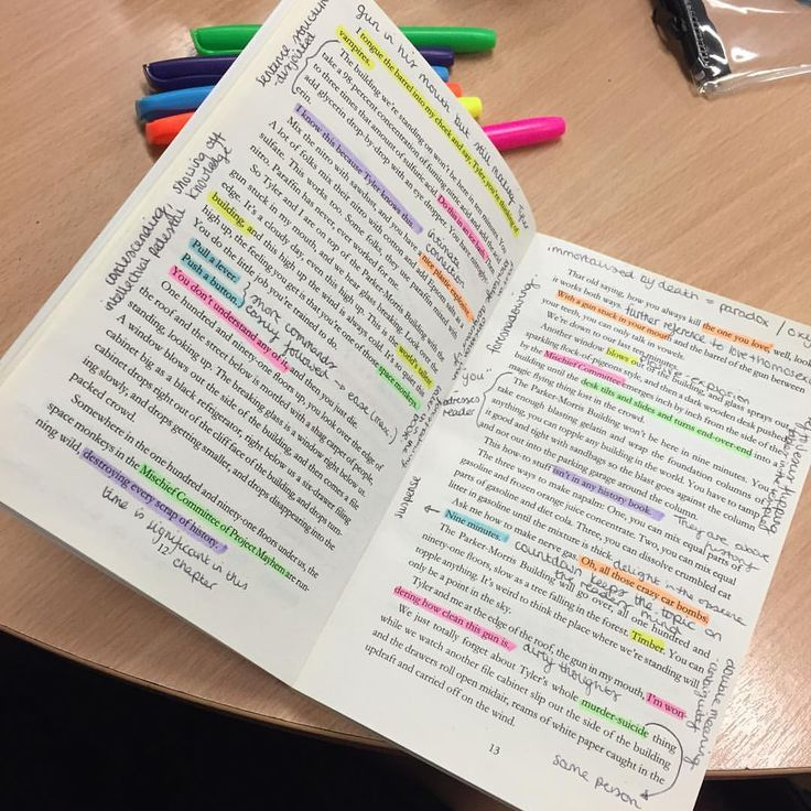 success my only option — studyhard-getgrades: Annotating fight club for...