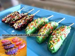 Resep Es Pisang Coklat (piscok) | Resep Masakan Indonesia (Indonesian Food Recipes)