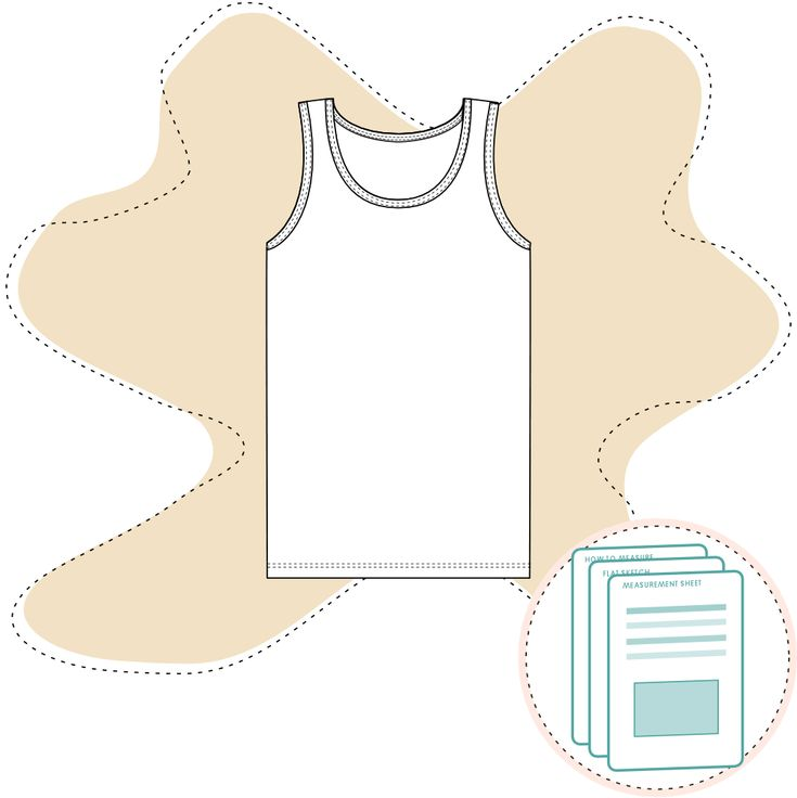 Tech Pack Template -  Boys Underwear Top Size range 2 Y to 9 – 10 Y Recommended fabric: Jersey 95% Cotton 5% Elastane. Or similar. Ready-to-use documents for a perfect fit Documents are ready to send to manufac…