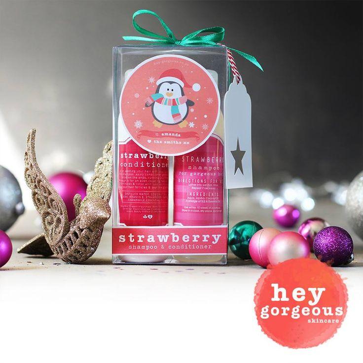 Strawberry Shampoo & Conditioner..aaahhh